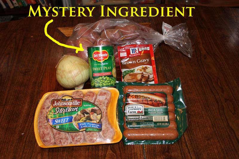 bangers n mash ingredients
